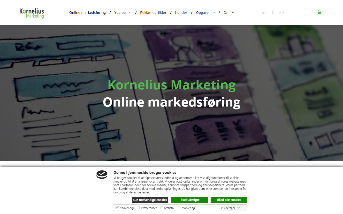 Detaljer : Kornelius Marketing