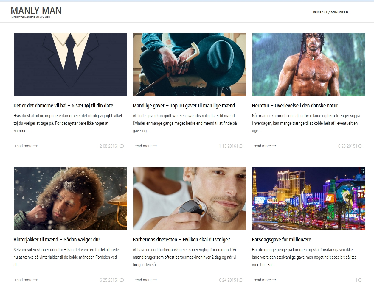 Manly Man | Manly Things for Manly Men